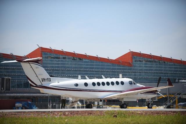 Chuyến bay đầu tiên hạ cánh xuống Cảng hàng không quốc tế Vân Đồn - 3