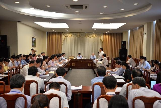 Nhiều đại biểu quan tâm đến vấn đề ngập nước, kẹt xe tại phiên thảo luận tổ