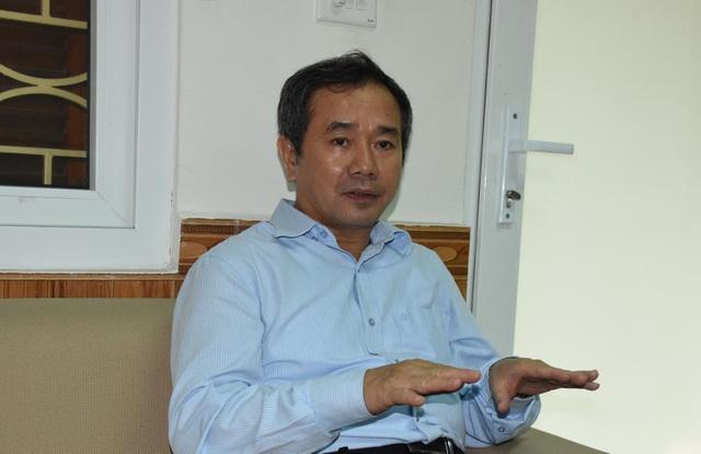 GS.TS Phạm Hồng Tung, Viện trưởng Viện Việt Nam học và Khoa học phát triển, Chủ biên Chương trình môn Lịch sử mới. (Ảnh: Thảo Phạm).