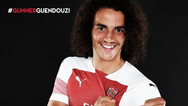 Arsenal chiêu mộ thành công Matteo Guendouzi