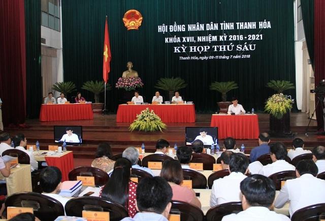 Kỳ họp thứ 6, HĐND tỉnh Thanh Hóa khóa XVII, nhiệm kỳ 2016 - 2021.