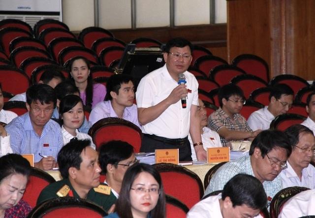Ông Nguyễn Văn Thi - Trưởng ban quản lý Khu Kinh tế Nghi Sơn và các Khu công nghiệp Thanh Hóa