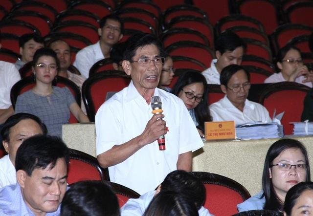 Đại biểu Nguyễn Anh Tuấn nêu câu hỏi