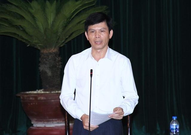 Ông Lê Anh Tuấn - Phó chủ tịch UBND tỉnh Thanh Hóa trả lời chất vấn