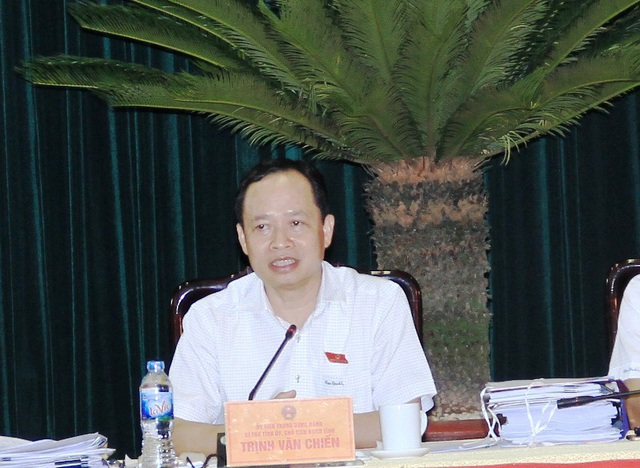 ông Trịnh Văn Chiến - Bí thư Tỉnh ủy, Chủ tịch HĐND tỉnh Thanh Hóa