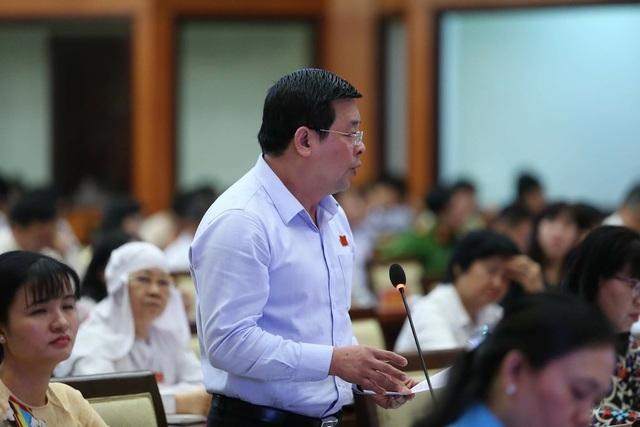 Giám đốc Sở Tài nguyên - Môi trường Nguyễn Toàn Thắng