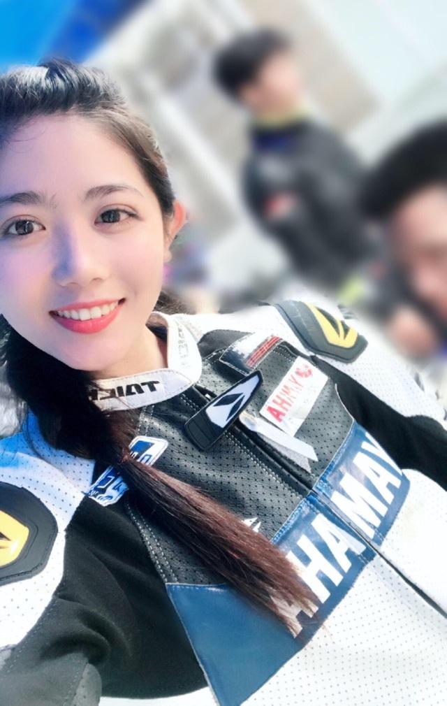 """Thành viên của """"biệt đội"""" Yamaha Exciter Angels gồm những cô gái tài năng, xinh đẹp, đam mê xe Yamaha Exciter và các dòng xe thể thao."""