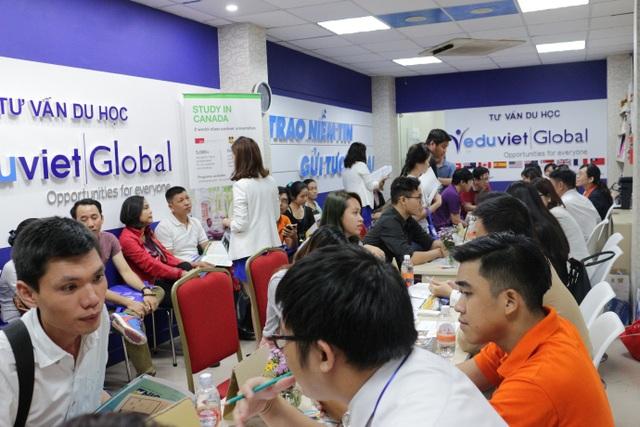 Eduviet Global tổ chức triển lãm du học các nước 2018 - 2