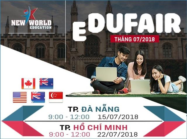 Ngày hội chắp cánh ước mơ du học tháng 07/2018 tại Đà Nẵng và TPHCM - 2