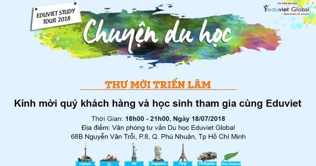 Eduviet Global tổ chức triển lãm du học các nước 2018 - 4