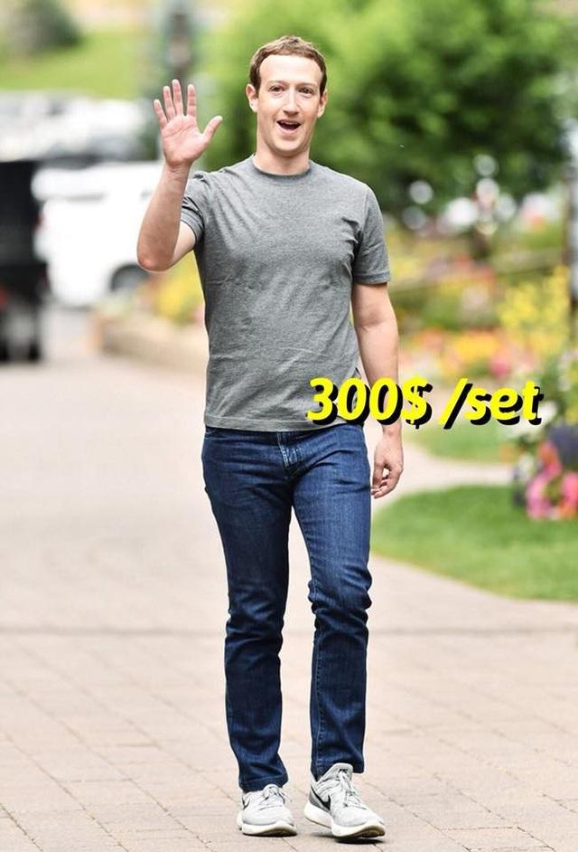 Thậm chí nhiều người còn so sánh các thứ đồ mà bạn trẻ Việt đang mặc với giá trị món đồ trên người của nhà sáng lập Facebook, Mark Zuckerberg, người giàu thứ 3 thế giới hiện nay với khối tài sản 76,9 tỷ USD