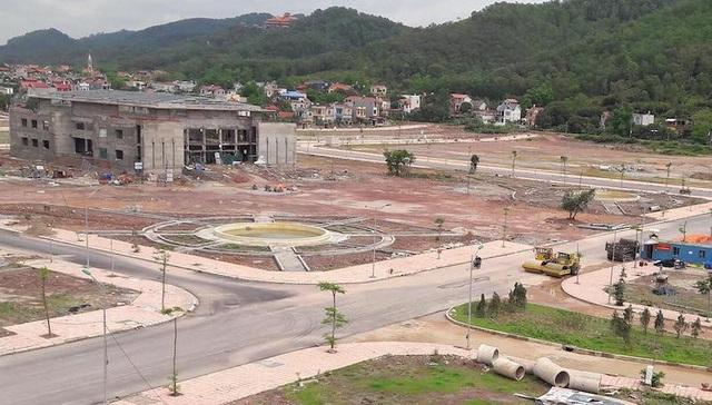 Dự án khu đô thị mới tiểu khu 2,3 thị trấn Nham Sơn (Yên Dũng - Bắc Giang).