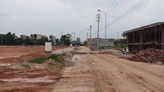 Dự án đầu tư khu đô thị số 1 thuộc khu dân cư mới Yên Thế.