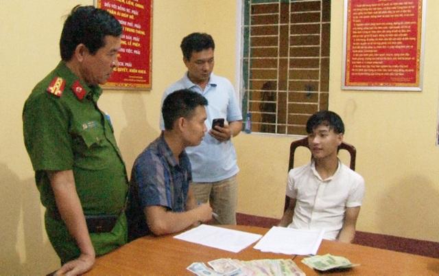 Thanh niên 16 tuổi còn nhỏ này được xác định đã có hành vi cướp tài sản