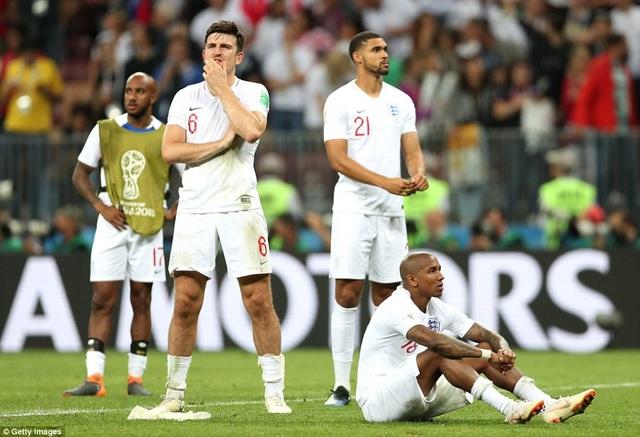 Đội tuyển Anh đã tan vỡ giấc mơ vào chung kết World Cup 2018