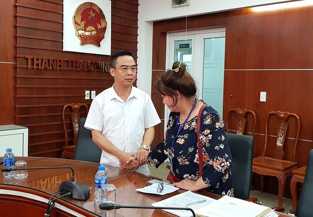 Ông Nguyễn Hồng Điệp, Trưởng Ban tiếp công dân Trung ương chia sẻ với những nỗi gian khó, uất ức của bà Phượng phải trải qua suốt 40 năm.