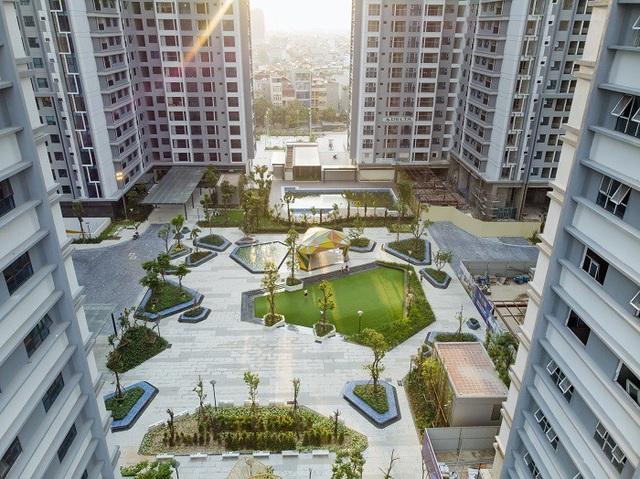 Công viên, quảng trường, cây xanh là những điểm nhấn đặc biệt tại TNR Goldmark City