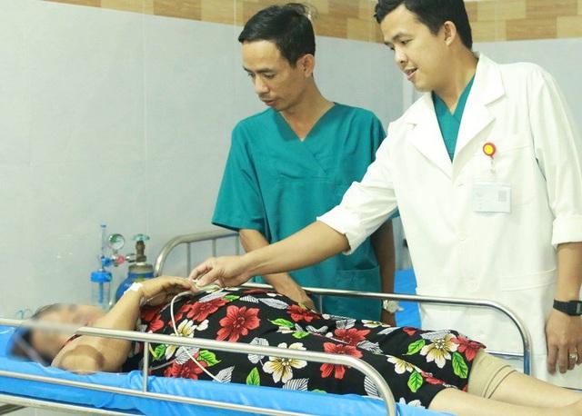 Sau thủ thuật lấy dị vật, bệnh nhân nhanh chóng bình phục