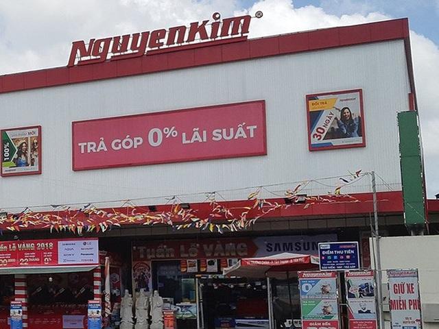 Công ty cổ phần thương mại Nguyễn Kim bị Cục thuế TP.HCM truy thu số tiền thuế lớn. (Ảnh: Báo Pháp luật TP.HCM)
