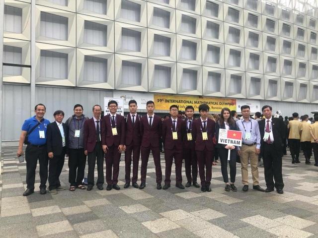 Đoàn Việt Nam tham dự Olympic Toán học quốc tế lần thứ 59