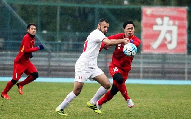 U23 Palestine cũng là thuốc thử chất lượng với U23 Việt Nam