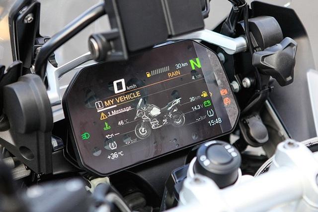 Bảng đồng hồ mới trên BMW R1200 GS