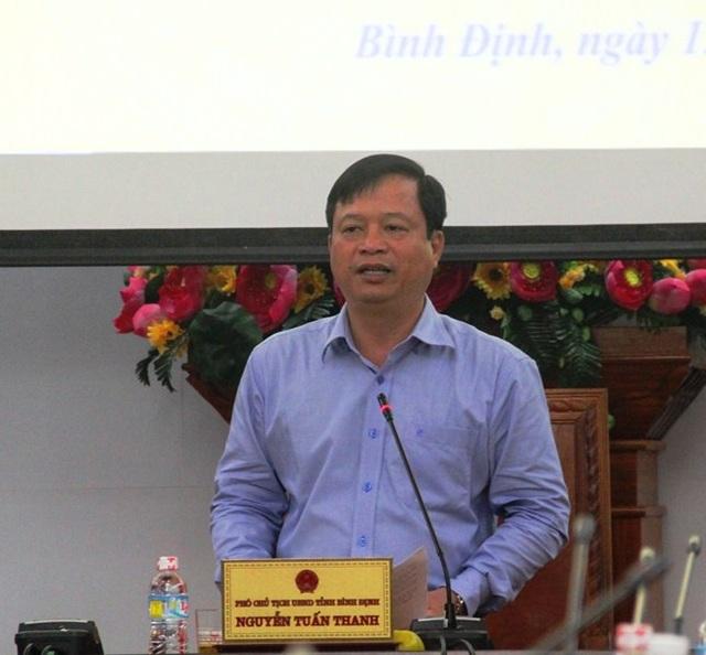 Phó Chủ tịch UBND tỉnh Bình Định Nguyễn Tuấn Thanh trả lời một số vấn đề báo chí quan tâm