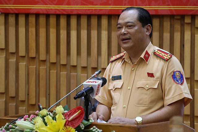 Đại tá Lê Xuân Đức - Phó Cục trưởng Cục CSGT