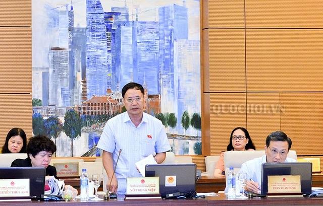 Đại biểu Nguyễn Mai Bộ đề nghị áp dụng quy trình giải quyết thông qua tòa án trong việc xử lý tài sản bất minh