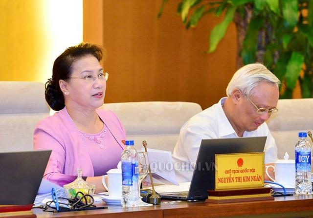 Chủ tịch Quốc hội Nguyễn Thị Kim Ngân yêu cầu giải trình đầy đủ với lý lẽ thuyết phục để xin ý kiến Bộ Chính trị về việc xử lý tài sản bất minh