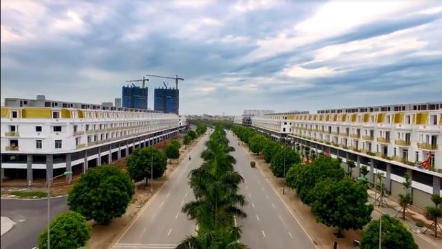 Nhà mặt phố Geleximco Lê Trọng Tấn đã hoàn thiện và được chú ý tại thị trường BĐS