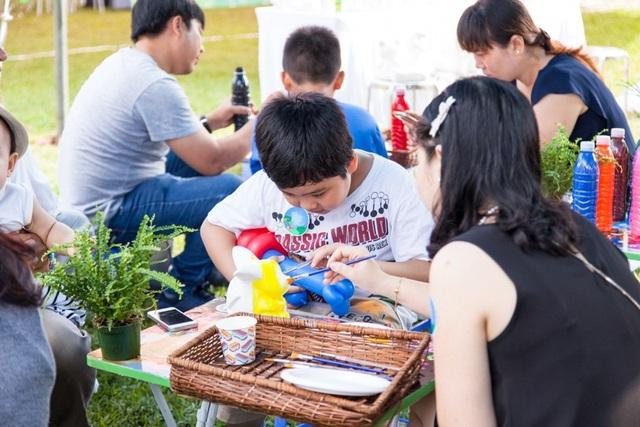 Không chỉ được tầm soát, các thành viên trong gia đình còn được tham gia các hoạt động gắn kết ý nghĩa