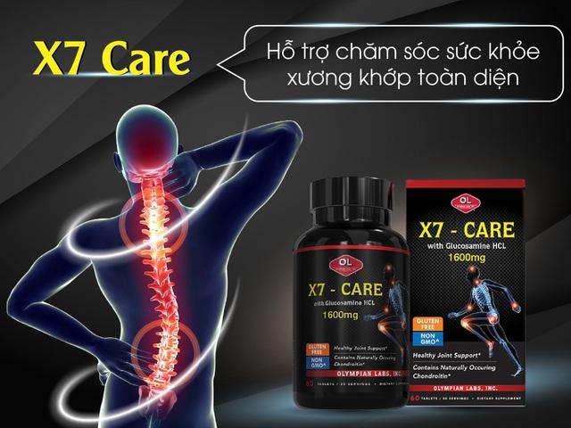 TPBVSK X7 Care – Hỗ trợ chăm sóc sức khoẻ xương khớp toàn diện
