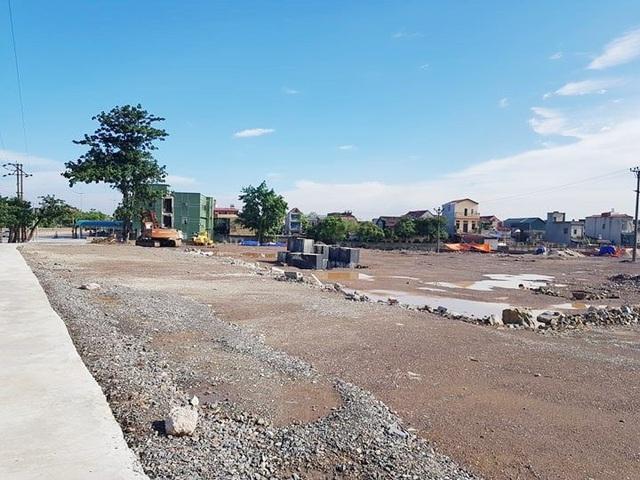 Công ty CP Bê tông thép tiến hành xây dựng khi chưa được cấp phép.