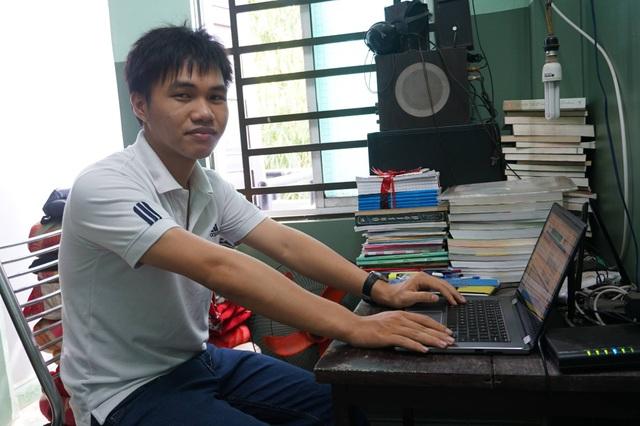 Với 27 điểm khối B, Phạm Phú Phong là thí sinh có điểm xét tuyển Đại học cao nhất tỉnh Quảng Ngãi