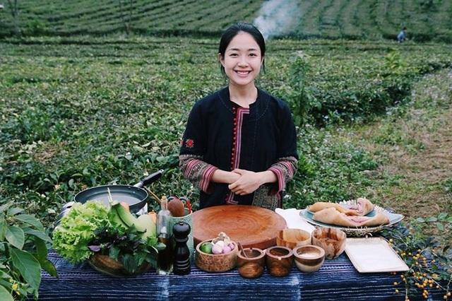 """Nguyễn Khánh Vương Anh – một du học sinh Việt Nam đang học nghề bếp tại Sydney (Úc) đã """"gây sốt"""" cộng đồng mạng với kênh Youtube có tên: Vương Anh's Cooking Journey"""