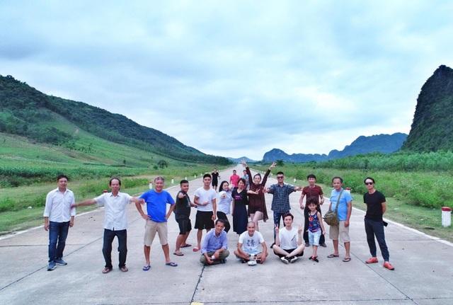 Đoàn phim Quỳnh búp bê đang ở Quảng Bình để hoàn thành nốt những cảnh quay cuối cùng.