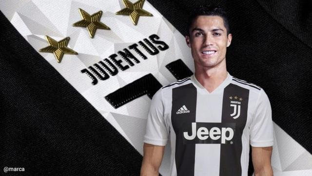 C.Ronaldo nhận lương cao thứ 3 thế giới