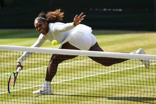 Serena Williams thi đấu đầy nỗ lực nhưng chưa thể có phong độ cao