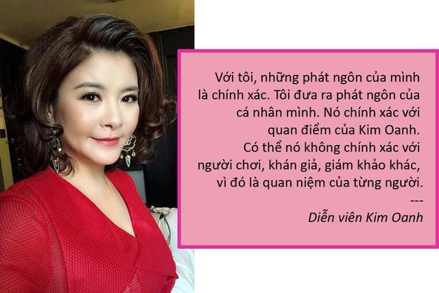 """Xem thêm: Bị chỉ trích khi ngồi ghế nóng, Kim Oanh: """"Tôi không bao giờ…khen đểu"""""""