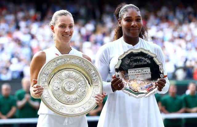 Kerber trái đã có danh hiệu Grand Slam thứ ba trong nghiệp