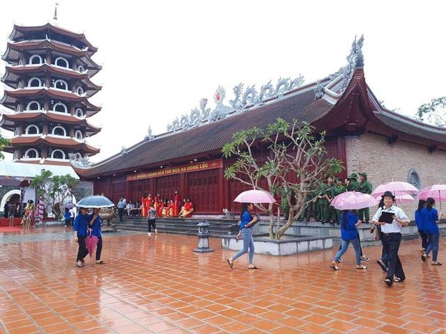 Một trong những hạng mục chính của Đền thờ Ngã ba Đồng Lộc