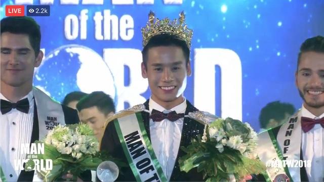 Cao Xuân Tài đăng quang Nam vương Man of the World 2018 - 6