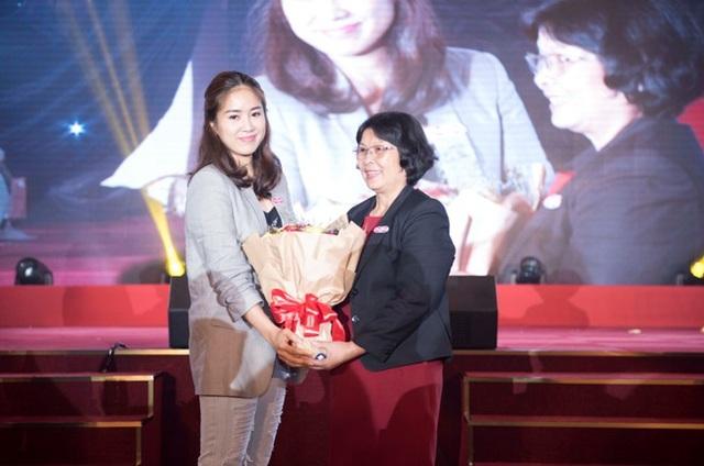 Diễn viên Lê Phương - phụ huynh bé Cà Pháo đang học tại iSchool gửi lời cảm ơn đến Hệ thống đã tạo ra một môi trường giáo dục hoàn hảo cho con.