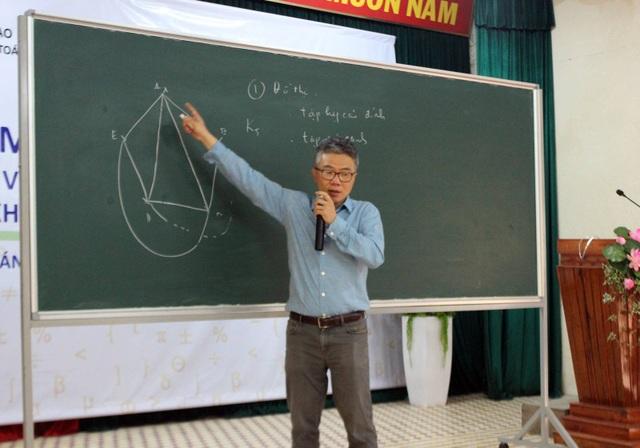 GS Ngô Bảo Châu trực tiếp giảng dạy 138 học sinh chuyên Toán