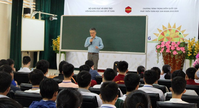 Theo GS Ngô Bảo Châu, muốn học toán tốt, chúng ta phải xây dựng mỗi bài toán thành 1 câu chuyện