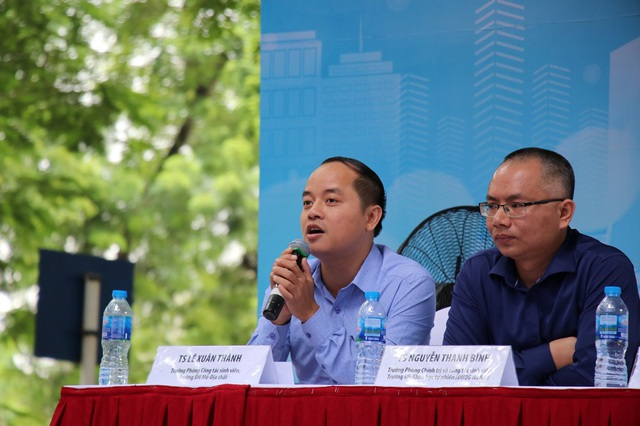 TS. Lê Xuân Thành (Trưởng phòng công tác sinh viên, ĐH Mỏ - Địa chất)