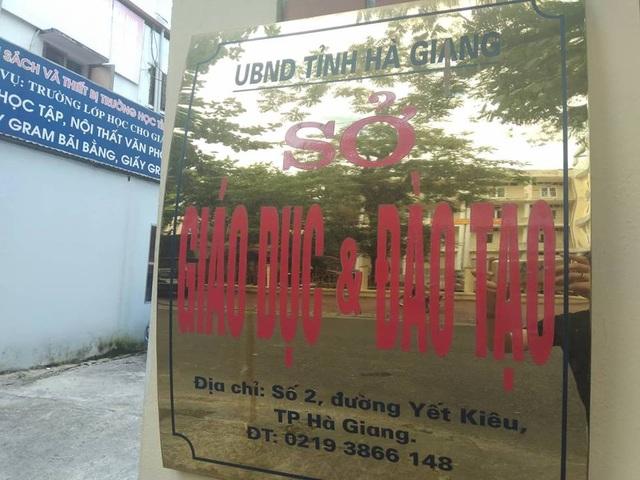 Sở GD&ĐT Hà Giang