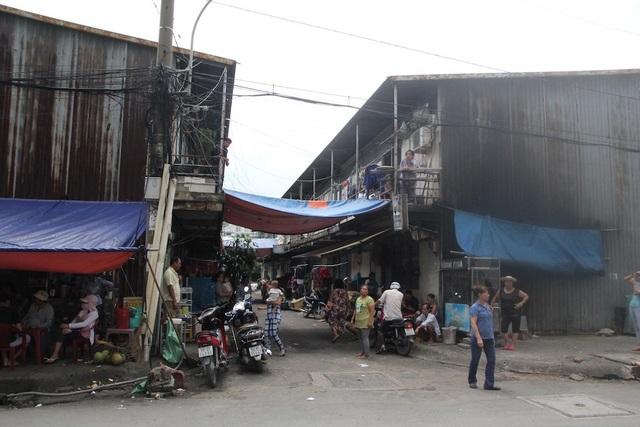 Khu tạm cư 1ha An Phú nơi Bí thư Nguyễn Thiện Nhân tới thăm người dân.