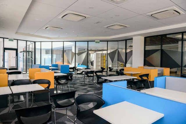 Cơ sở vật chất hiện đại, truyền cảm hứng của BUV.